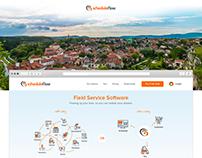 Scheduleflow a a field service software