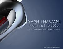 Yash Thawani Portfolio Year 3