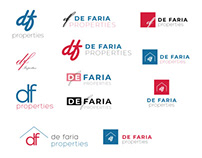 De Faria Property Logo Concepts