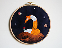 "embroidery "" le petit prince """