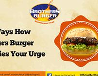 Brothers Burger Rebrand & Social Media Application