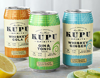 Kupu Spirits (Maui Brewing Co.) Canned Cocktail Design