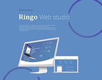 Ringo landing page