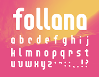 Follana Font Freebie