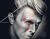 David Bowie - Tribute Illustration