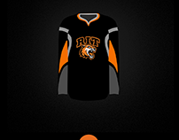RIT Men's Hockey Black Alternate Mock Ups