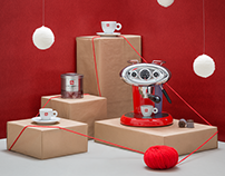 illy caffè - Holiday photo shoot