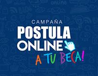 Campaña Postula Online