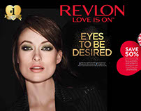 Revlon in-store collateral
