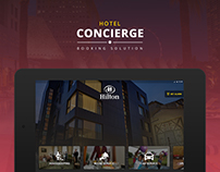 Hotel Concierge Booking Solutions | Tablet Application