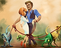 Jurassic World Disney