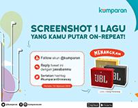 poster #kumparanGiveaway for socmed kumparan