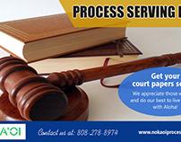 Process Serving Kauai