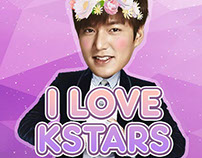 I Love K Stars Marketing Collaterals