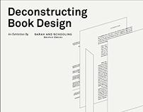 An Exhibition: Deconstructing Book Design