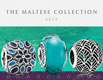 The Maltese Collection of charms. Pandora MT.