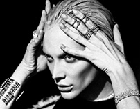 "Dzhanelli jewelry ""Embrace"" collection lookbook"