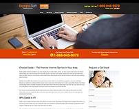 Web Design - Exede Internet Service Provider