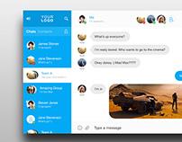 Desktop Messenger FREE PSD