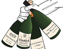 Franc about Wine Illustration