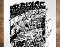 Grease Monkeez 4x4 Poster