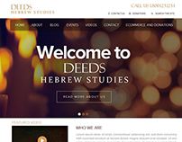 Deeds Hebrew Studies