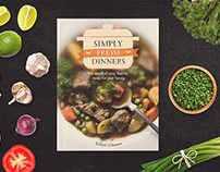 Book Design—Simply Fresh Dinners