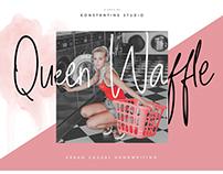 Queen Waffle - Fancy Handwriting Font
