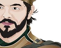 Renly Baratheon VETORIZADO