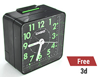 Free High Quality 3D Model - CASIO Alarm Clock