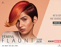 Femina Flaunt Studio Salon Campaign