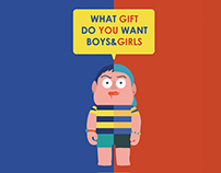 WHAT GIFT DO YOU WANT