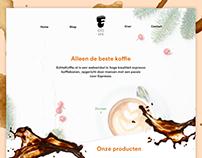 Echte Koffie website & logo design