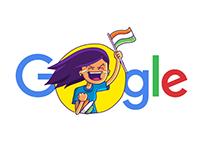 I ♥︎ India -  Google Allo sticker pack
