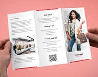 Brochure – Fashion Look Book Tri-Fold Template
