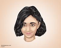 Vexel Art for Bakhtawar Khaleeq