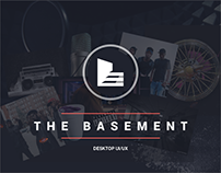 The Basement - Responsive UX Design