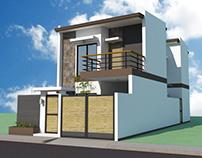 2 Storey Residence w/ Balcony