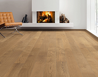 SMOKED OAK Markant - Timber Flooring Plank 1-Strip