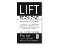 LIFT Economy Business Card