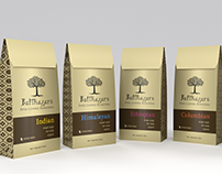 'Balthazars' Coffee Roaster Identity and Packaging