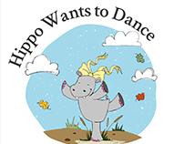 HIPPO WANTS TO DANCE Children's book - BookDash