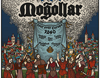 Moğollar Poster Colorized