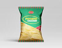 Pran Potato Cracker Packaging Design for Practice