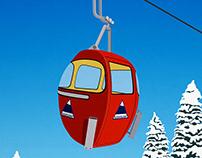 Sugarloaf Ski Resort Poster
