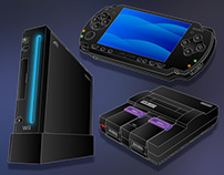 Game Console Illustrations