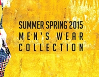 Summer Spring 2015 Men's wear T-shirt Collection