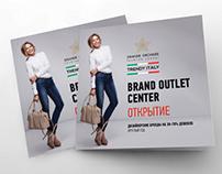 Outlet сenter Trendy Italy Branding.