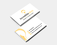 Incredible Ideas - Business Cards
