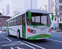 KPIT ELECTRIC BUS FRONT FASCIA DESIGN
